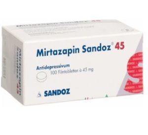 Mirtazapin Sandoz 45 mg rezeptfrei bestellen in Deutschland