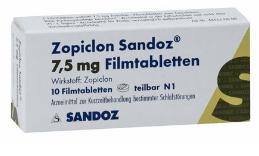 Zopiclon Sandoz 7,5mg rezeptfrei kaufen