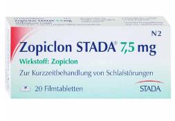 Zopiclon Stada 7,5 mg rezeptfrei kaufen