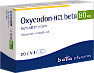 Oxycodon rezeptfrei von Beta Pharm aus Deutschland kaufen direkt